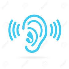 Ear écouter Vecteur Icône Clip Art Libres De Droits , Vecteurs Et ...